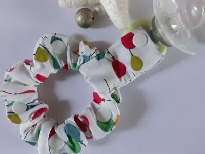 Lollipop holder bracelet multicolored balloons