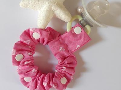 White hearts lollipop bracelet