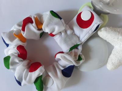 Bracelet porte sucette ronds multicolores