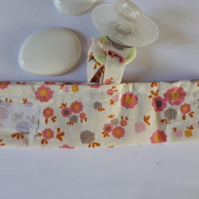 Bracelet porte sucette fleurs