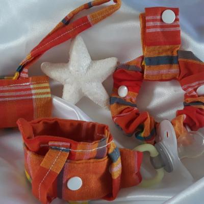 Pack 3 bracelets madras des îles