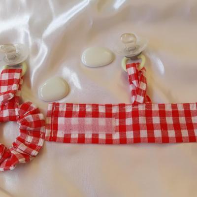 Duo bracelets chouchou/lacet